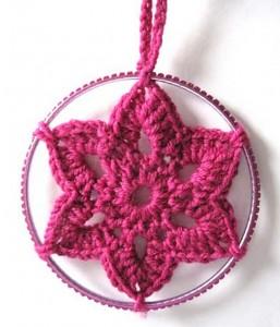 Christmas Crocheted Star Decoration