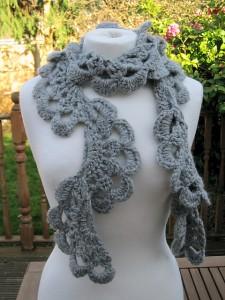 Anesha Crochet Lace Scarf