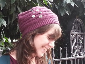 'For Jane' Beret and Mittens
